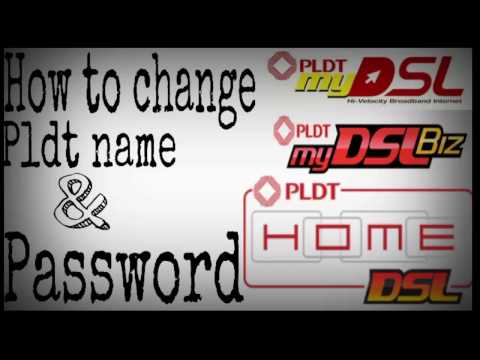 How to change pldt wifi name & password for androd 2016