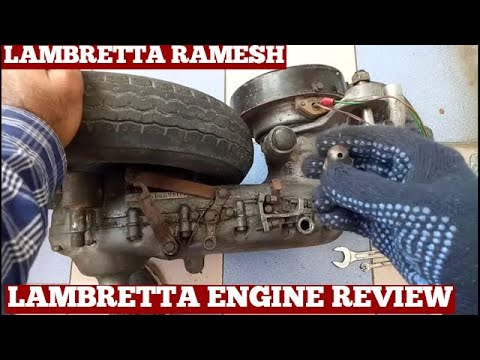 How To Open Lambretta Scooter Engine Cover-Removal Engine Cover Lambretta Scooter At Home-Diy