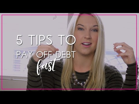 5 Tips To Paying Off Debt (Quickly)