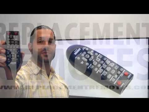 ANDERIC RR2547B Samsung Sound Bar Remote - www.ReplacementRemotes.com