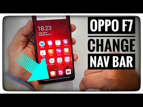 Oppo F7 - Change Nav Bar