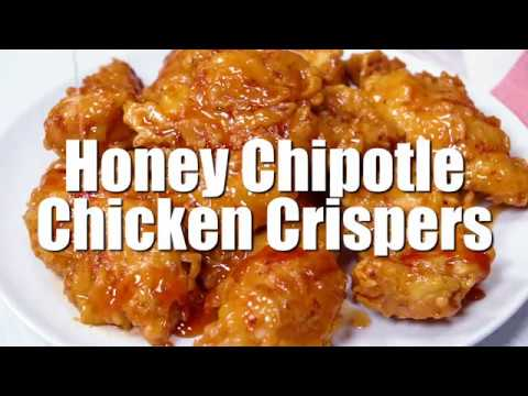 How To Make: Honey Chipotle  Chicken Crispers