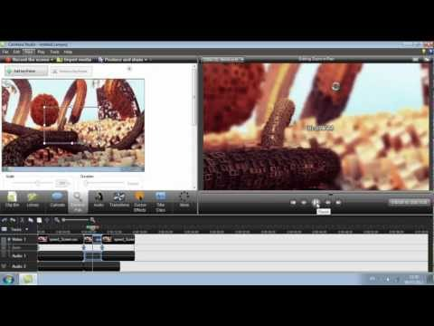 How to change clip speed in Camtasia Studios