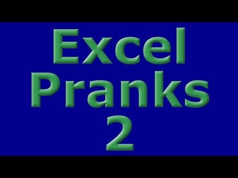 Excel Pranks 2 - Jumping Data