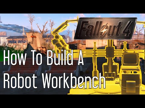 How to Build a Robot Workbench in Fallout 4