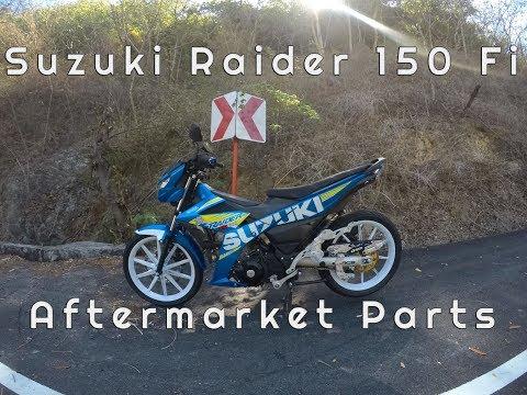 Motovlog # 26: My Suzuki Raider 150 Fi Aftermarket Parts