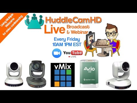 Using Multiple cameras with GoToMeeting, WebEX or Skype (EP 10)