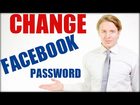 How to change Facebook password on mobile 2016