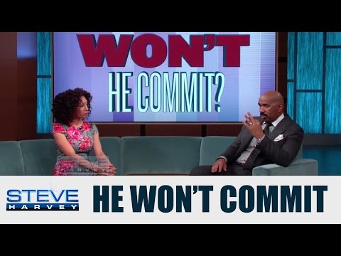 3 Things A Man Needs Before He Can Commit  || STEVE HARVEY