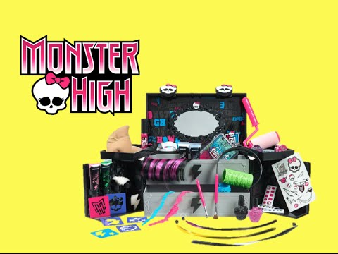 Monster High Monsterfy Makeup Case: Be Your Own Monster!