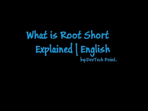 What Is Rooting in Short Explained | English