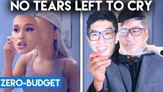 ARIANA GRANDE WITH ZERO BUDGET! (No Tears Left To Cry PARODY)