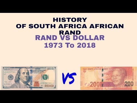 history of south african rand 1973 to 2018