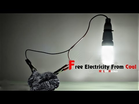 How to generate free electricity from coal - Science Project