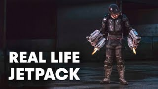 The Real Life Iron Man Jetpack that Actually Flies