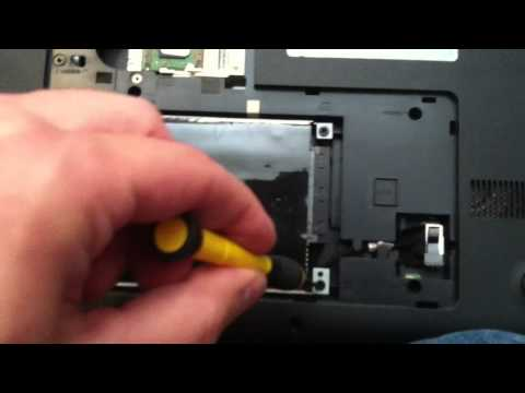 How to replace hard drive in hp 2000 laptop
