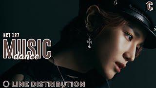 NCT 127 (엔시티) - 'Music, Dance' | Line Distribution▪Resonance
