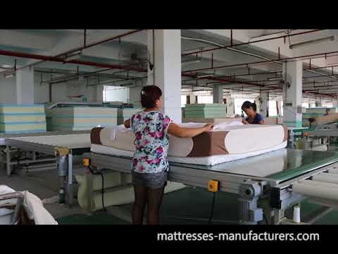 how to make a memory foam mattress
