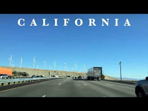 Driving Across America -- California to Florida -- Interstate 10 Freeway - 15,000 Views!!!