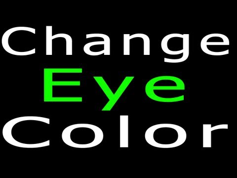 Photoshop CS5 | How To Change Eye Color The Professional Way!