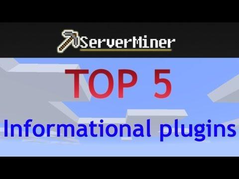 Top 5 Informational plugins for your Bukkit server