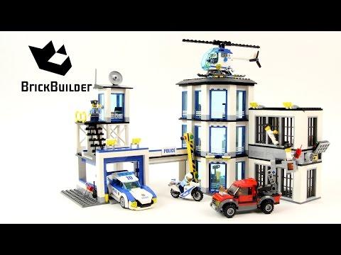 Lego City 60141 Police Station - Lego Speed Build