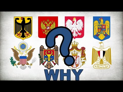 Why is the EAGLE so used on the Coats of Arms ?