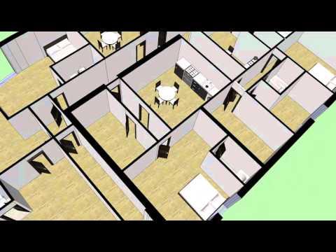 3D FLOOR PLANS - FIRST FLOOR - READING
