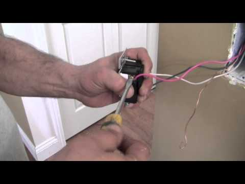 Installing / Replace A Three Way Dimmer Switch