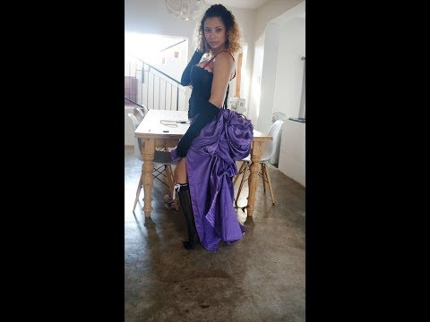 How to make a bustle skirt