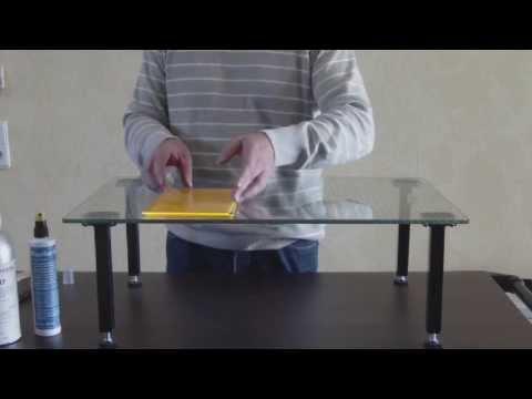 How to make acrylic butt joints *** Stoßverklebung mit Acrylglas
