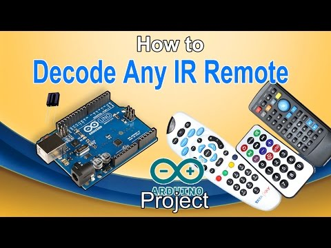 How to Decode any IR remote |TV,DVD,AC any other