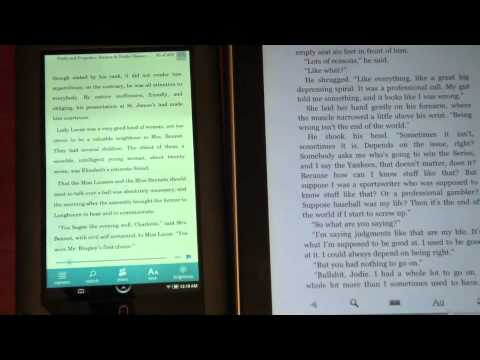 Nook Color Vs. iPad Reading Experience