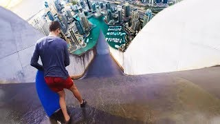 Top 10 MOST INSANE NATURAL Waterslides YOU WONT BELIEVE EXIST!