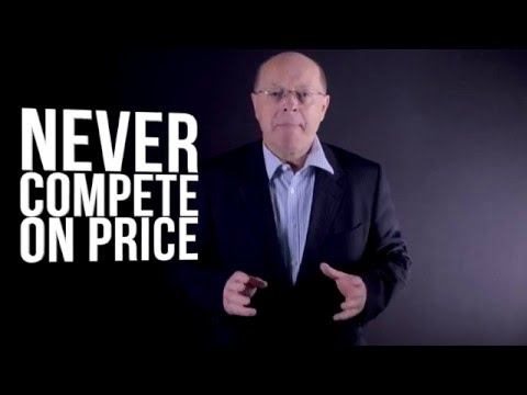 Never Compete on Price