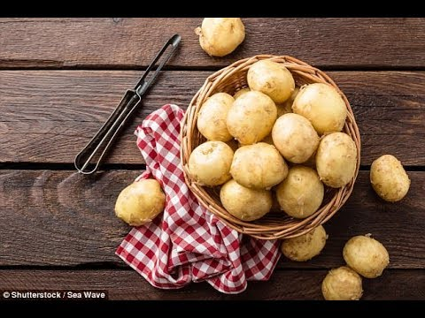 Potato power! You could 'live the rest of your life' on the tuber 'and remain pretty healthy