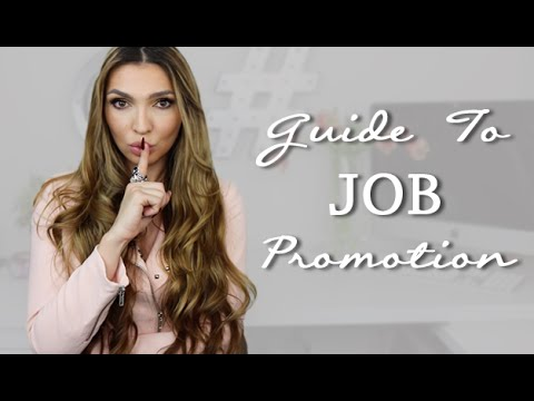 How To Get a Job PROMOTION