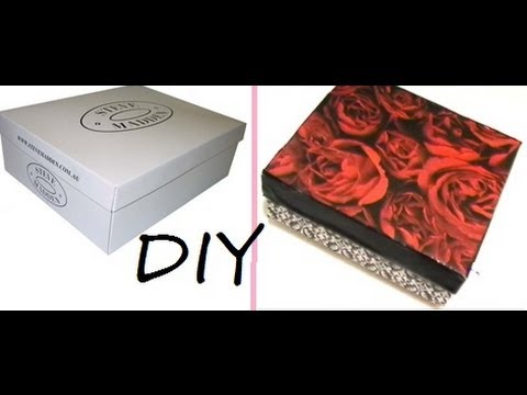 DIY: Storage Box | Recycle Your Shoebox  (TimeLapse)
