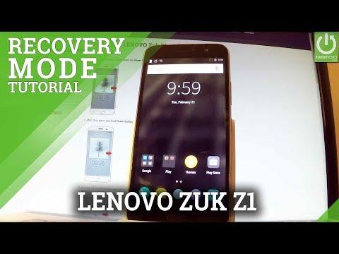LENOVO Zuk Z1 RECOVERY MODE / Enter & Quit LENOVO Recovery