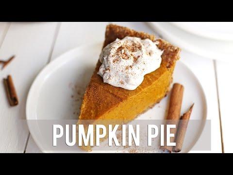 How to Make Pumpkin Pie | EASY + VEGAN RECIPE