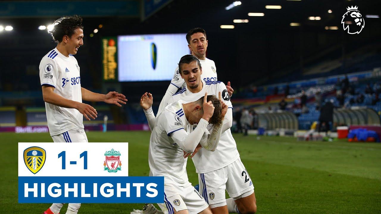 Highlights: Leeds United 1-1 Liverpool | Llorente header after Mane opener | Premier League