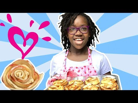 DIY HOLIDAY TREATS FOR KIDS - APPLE ROSES 💗 JUSTICE