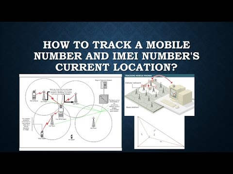 How to track a mobile number and IMEI number's current location?