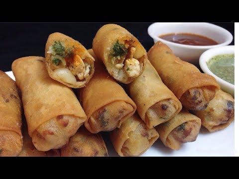 Macaroni Spring Rolls || How to make Macaroni Spring Roll || Special Ramadan Recipe for Iftar