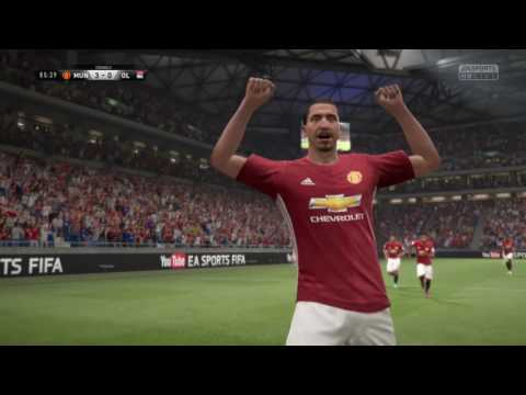Great volley by Ibrahimovic - FIFA 17 DEMO