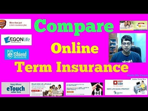 Compare Online Term Insurance : Compare Before Buying Online Term Insurance