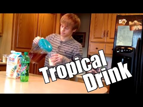 How To Make a Tropical Drink Mix
