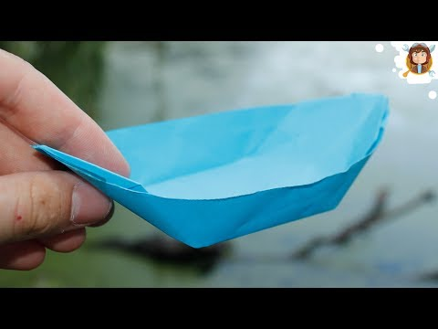 How to Make a Paper Boat - Canoe