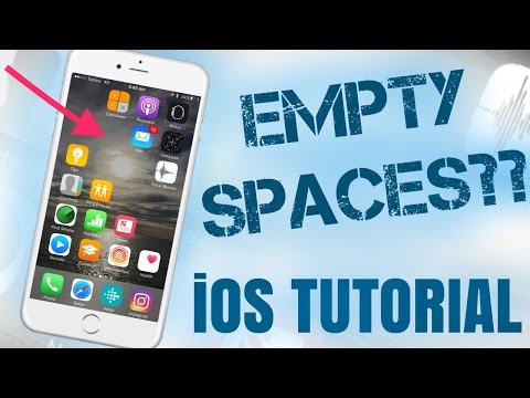 iOS Tutorial: Get Blank Spaces on Your Home-screen in-between apps! [NO COMPUTER, NO JAILBREAK]
