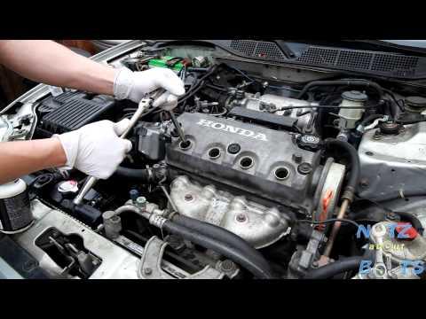 1996-2000 Honda Civic spark plugs replacement